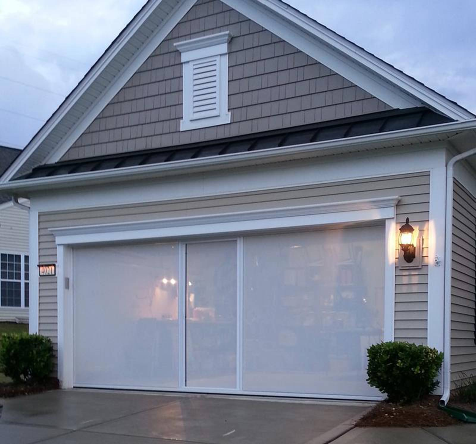 patio gallery installation door install screen enclosure installed sliding garage
