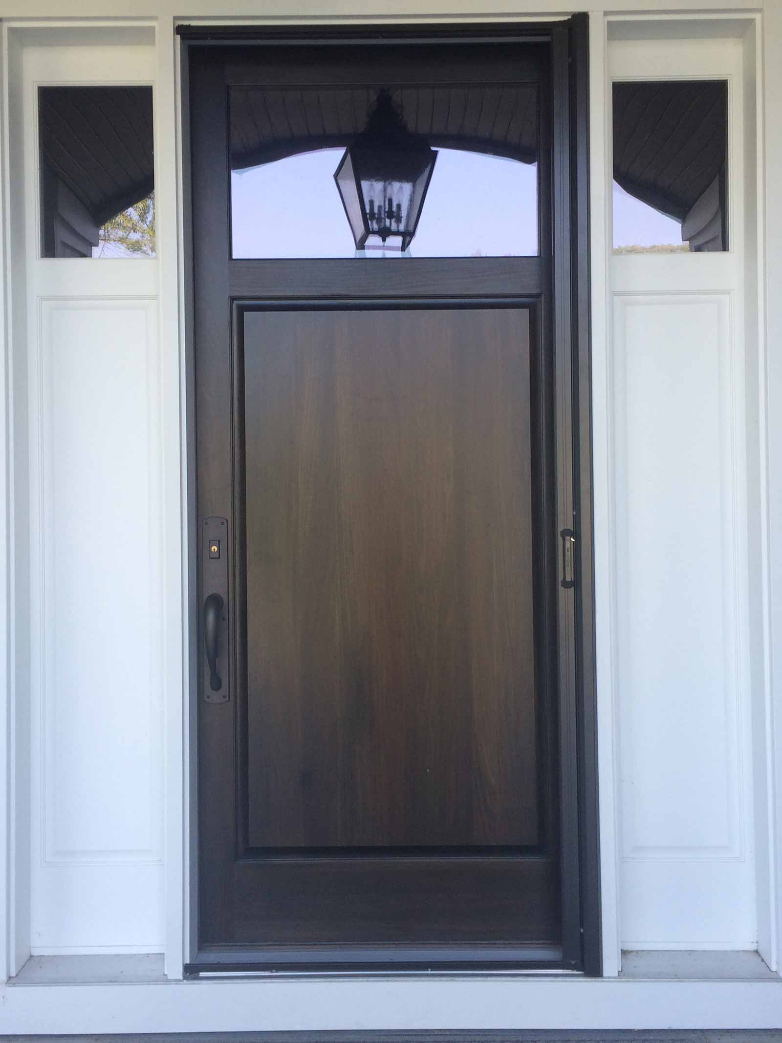 Retractable door screens phantom door screens for Phantom door screens prices