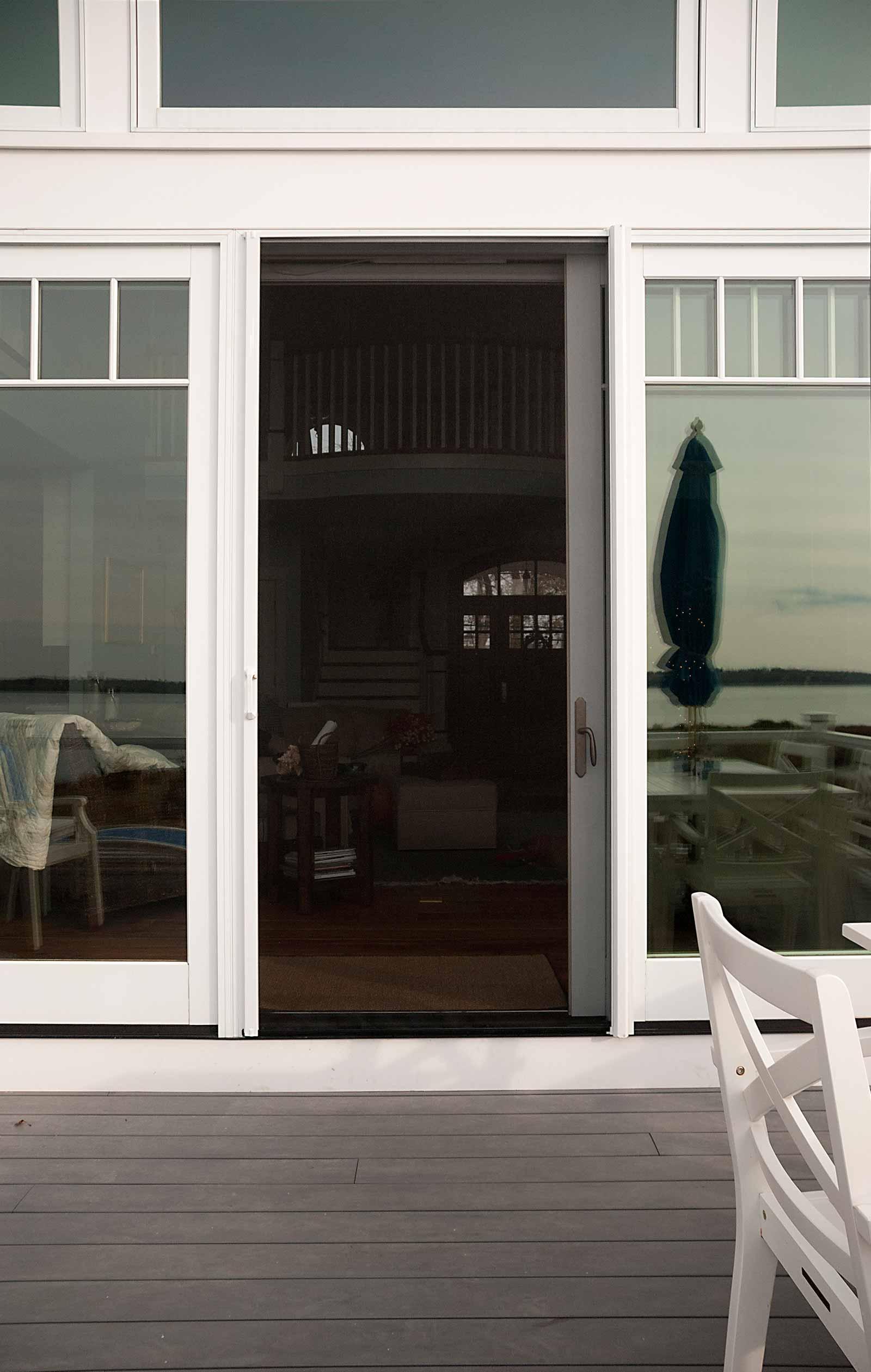 Retractable Door Screens Phantom Door Screens Minnesota Screens