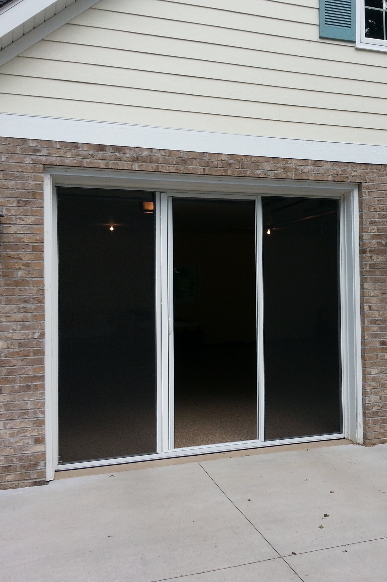 Merveilleux Screen For Single Car Garage